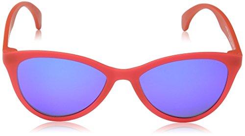 Smei Femme de Matt Transp Bleu Police Red Lunettes Soleil tqXxwRB