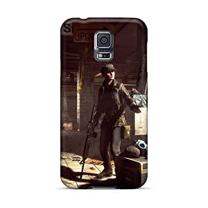 KerryParsons Samsung Galaxy S5 Shock Absorption Hard Phone Cover Unique Design Stylish Rise Against Pictures [Vzp10042egeh]