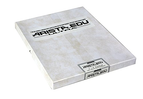 Arista EDU Ultra 200 ISO Black & White Film, 8x10, 50 Sheets by Arista