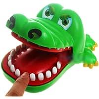 Creative Children Kid Crocodile Mouth Dentist Bite Finger Game Funny Toy