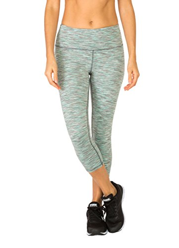RBX Active Multi Space Dyed Peached Capri Thyme Combo XL (Dyed Capri Pants)