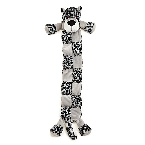 Grriggles Safari Squeaktaculars Dog Toy, Leopard, X-Large