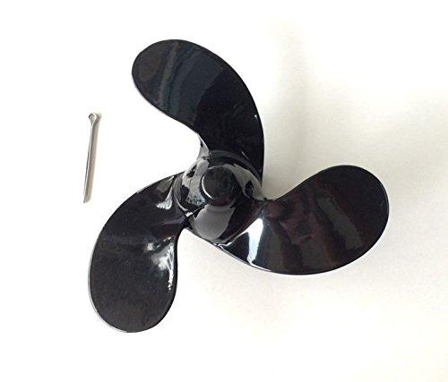 OMC Au/ßenborder J 2.2hp 3.3hp 3/x 7/1//5,1/x 15,2/cm in Propeller Aluminium mit Splint Passform 0114848/Johnson Evinrude