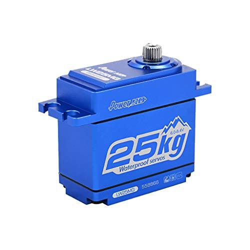 Ktyssp Power HD LW-25MG Waterproof Super Torque Digital Servo for Traxxas TRX-4 KM2