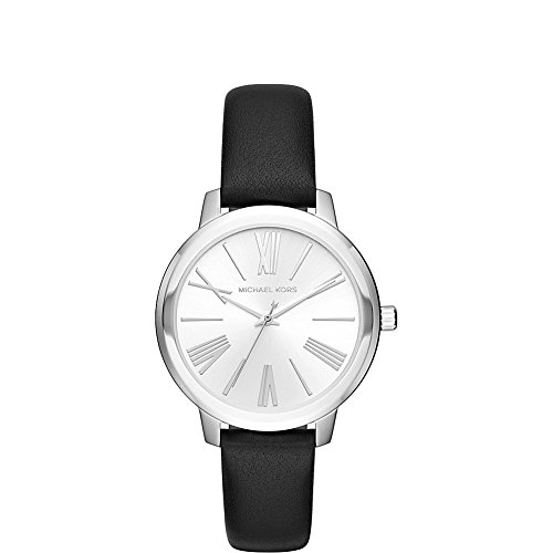 Michael Kors Watches Hartman Leather Three-Hand Watch