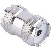 Conector UHF SO-239 hembra a hembra acoplador RF