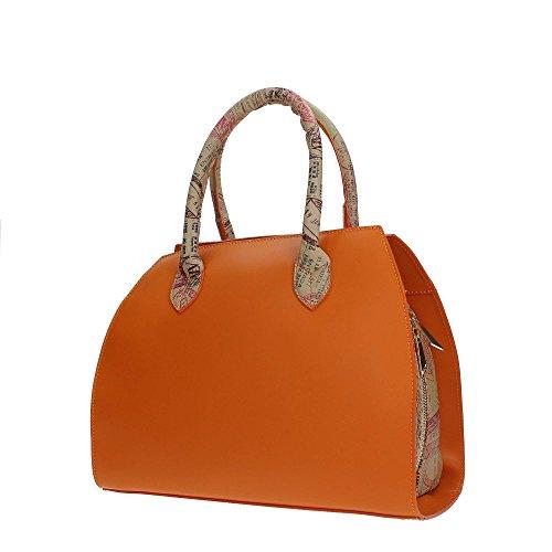Alviero orange Donna Martini Alv Borsa By Riod117d003b Bauletto SwqACU5