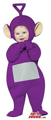 Teletubbies Costumes Adult (Very Cute Purple Teletubbies Character Toddler Size Plush)