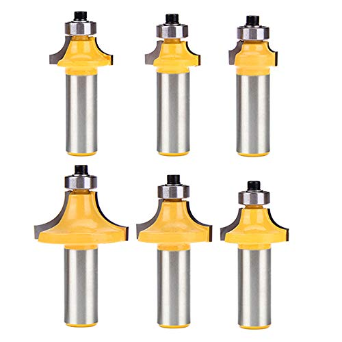 List of the Top 10 router bits 1/4 shank roundover 1/2 you can buy in 2019