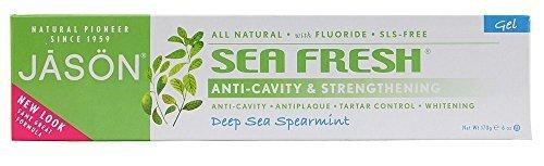Jason Natural Cosmetics - Sea Fresh Plus Coq-10 Toothpaste, 6 oz toothpaste by Jason Body Care