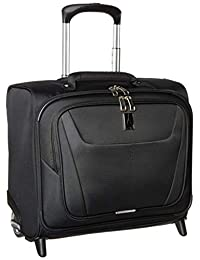 "Travelpro Luggage Maxlite 5 16"" Lightweight Carry-on Rolling Tote Suitcase, Black"