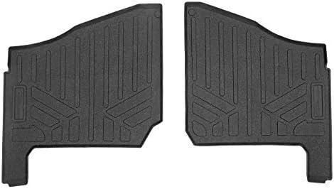 SMARTLINER UA0102 All Weather Custom Fit Floor Mats 1st Row Liner Set Black for 2019-2021 Polaris Ranger 1000 2 & 4 Passenger Models