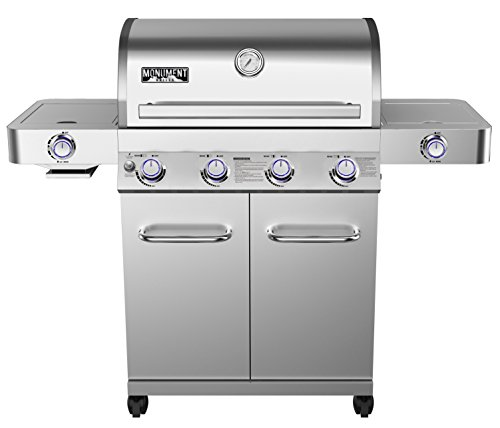 Monument Grills Stainless Steel