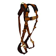 FallTech 7082LX ComforTech Full Body Harness with 1 D-Ring and Quick Connect Leg Straps, Large/Extra Large