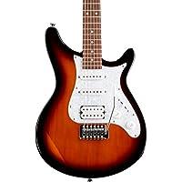 Rogue Rocketeer Deluxe Electric Guitar (Vintage Sunburst Or Gray Burst)