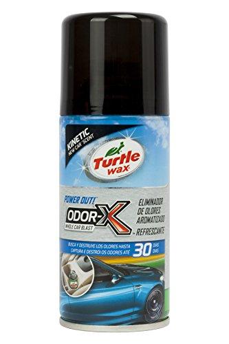 Turtle Wax TW53085 Limpiador Aire Acondicionado Aroma New Car 100 ml. Destruye los olores en Tan Solo 10 Minutos. Limpiando Desde el sitema de ventilacion del vehiculo, Multicolor, Auto Nuova