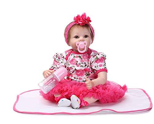 XiangLong 22  55 cm Soft Vinyl Silicone Reborn Dolls Lifelike Realistic Newborn Baby Doll Toy Gift