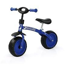 Hauck Super Rider T80701 Balance Bike 10-Inch Blue