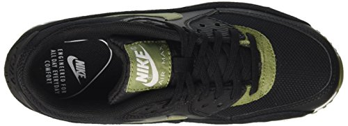Running Silver Air 90 Black Nero Green Mtlc White NIKE Max Scarpe Donna Palm wHqqIU4