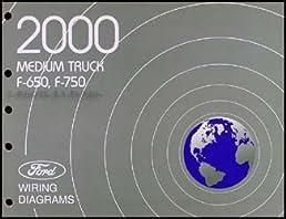 2000 ford f650 f750 medium truck wiring diagram manual original Ford F650 Fuse Box Diagram