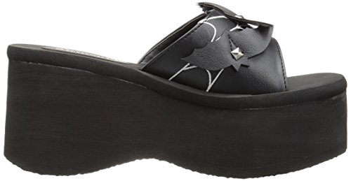 FUNN Demonia Blk Vegan Leather 30 rrUnx1