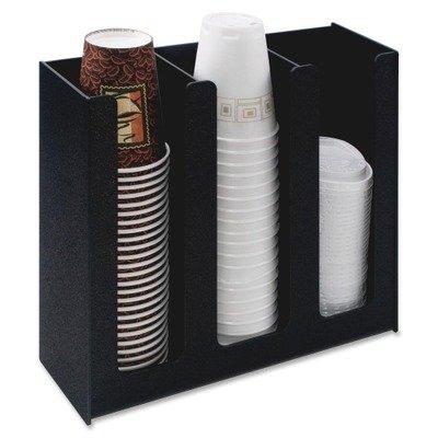 Vertiflex Cup Holder, 12-3/4w x 4-1/2d x 11-3/4d, Black