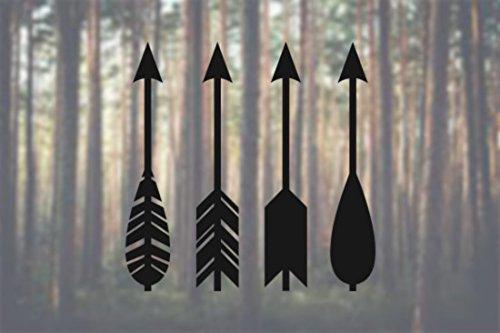 arrows-set-of-4-native-modern-design-vinyl-decal-car-truck-laptop-select-size