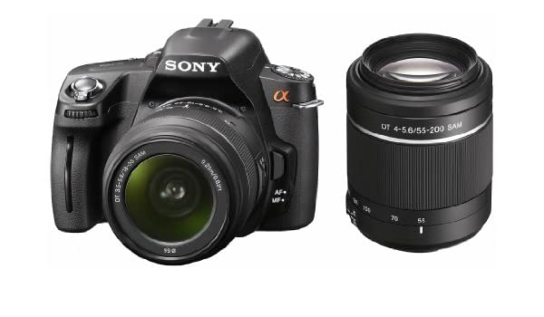 Sony D-A390Y - Cámara Réflex Digital 14.9 MP (Objetivo DT 18-55 mm ...