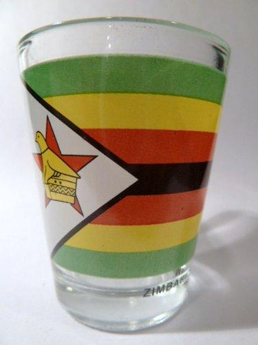 Zimbabwe Flag Shot Glass