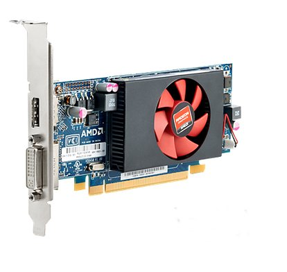 HP 717219-001 AMD Radeon HD8490 PCIe x16 1GB DDR3 memory graphics card (Amd Radeon 8490)