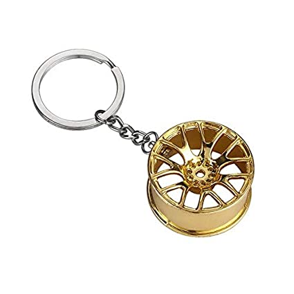 Amazon.com: Key Rings Keychain Holder llaveros Car Key Ring ...