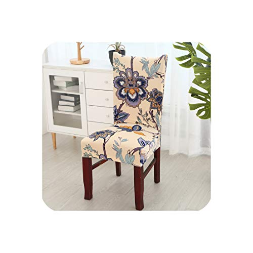 Printed Chair Cover Washable Removable Big Elastic Seat Covers Slipcovers Used for Banquet Hotel Home housse de Chaise,Color 12,Universal Size (Chaise Outdoor Hardware Restoration)