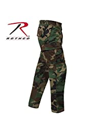 Rothco Woodland Camo Rip-Stop Short Length BDU Pants