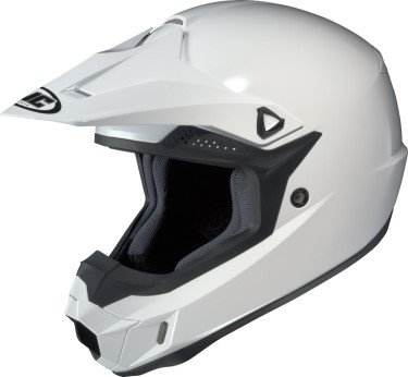 Hjc Cl-x6 White SIZE:LRG Off Road Motorcycle Helmet