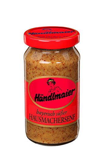 (Haendlmaier Sweet Bavarian Mustard - 200 Ml / 6.7 Oz)