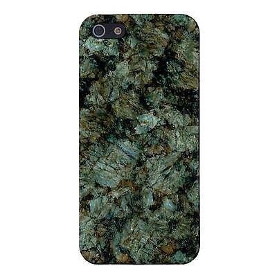 NEW Golden Jade Green Granite Marble Design Cover Case Skin for iPhone 5/5S NEW