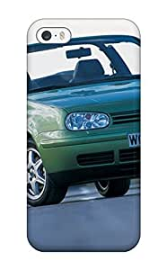 TYH - Excellent Iphone 5/5s Case Tpu Cover Back Skin Protector 1998 Volkswagen Golf Cabriolet phone case
