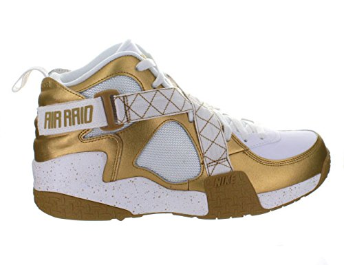 best website 08610 eb713 Nike Air Raid QAM Men Sneakers Metallic Gold White 642330-700 (SIZE  11) -  Buy Online in Oman.   Apparel Products in Oman - See Prices, Reviews and  Free ...