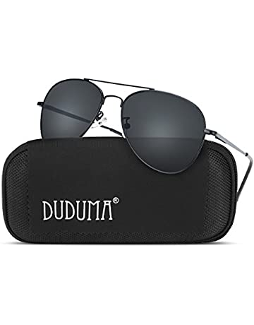 81f657728bf Duduma Aviator Sunglasses for Mens Womens Mirrored Sun Glasses Shades with  Uv400