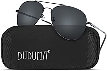 Duduma Aviator Unisex Sunglasses with UV400 Protection