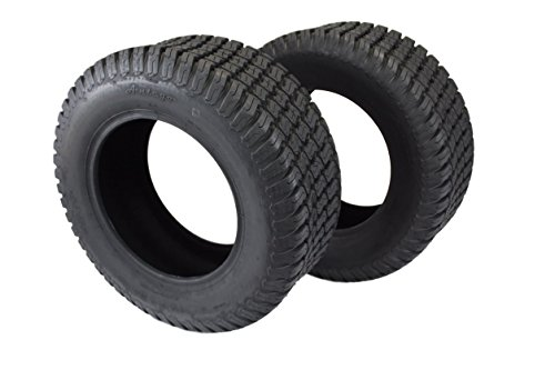 (Antego Set of Two 23x8.50-12 4 Ply Turf Tires for Lawn & Garden Mower 23x8.5-12)
