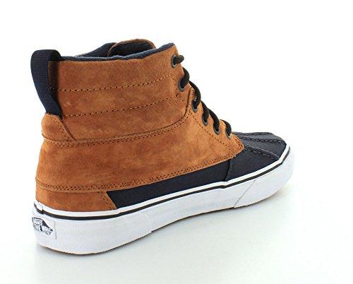 Vans Unisex-Erwachsene U Sk8-Hi Del Pato MT Hightop Sneaker Marrón / Negro