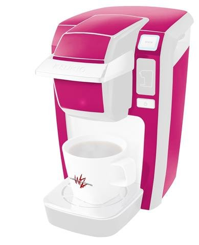 Solids Collection Hot Pink (Fuchsia) – Decal Style Vinyl Skin fits Keurig K10 / K15 Mini Plus Coffee Makers (KEURIG NOT INCLUDED) Review