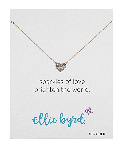 10k Gold Heart Necklace - 4