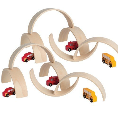 Constructive Playthings Set of 10 Unit Block Arches