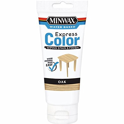 Minwax 308014444  Express Color Wiping Stain and Finish, Oak - Oak Wiping Stain