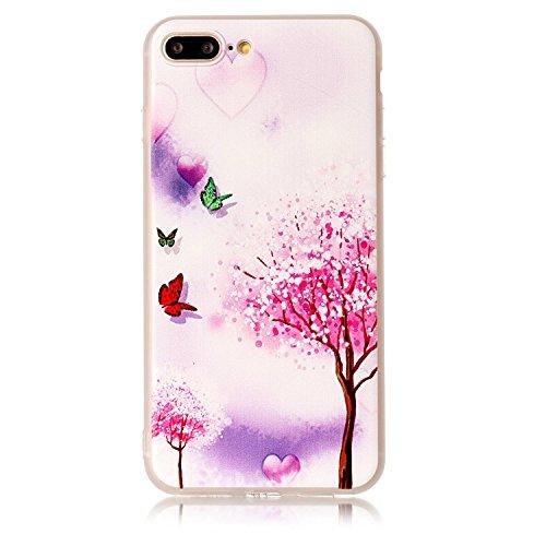 [해외]여자, GreenDimension 아이폰 7 플러스 케이스 새로운 글래머 시리즈 유연한 소프트 크리스탈 분명 TPU 하이브리드 커버 충격 흡수 고무 범퍼 Fabulou/iPhone 7 Plus Case for Girl,GreenDimension New Glamour Series Flexible Soft Crystal Clear ...