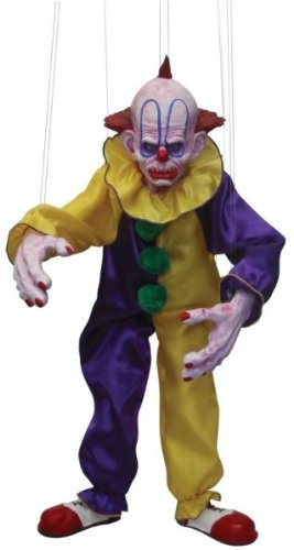 Scary Clown Puppet - Morris Costumes