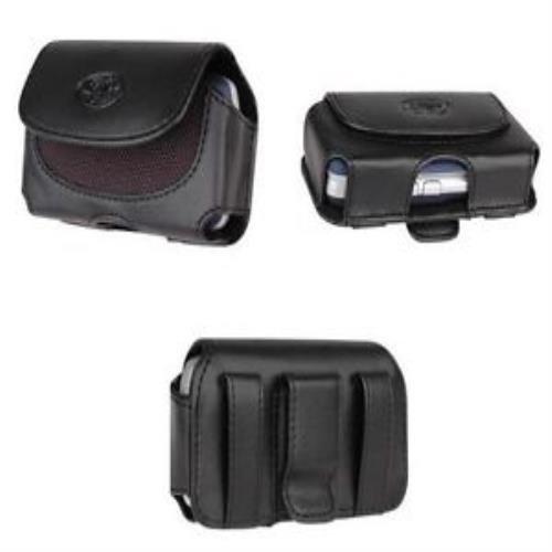 Leather Case for Verizon LG Revere 2 VN150s Tracfone LG 300g LG 300g 235C LG 235c-Auction4tech Brand