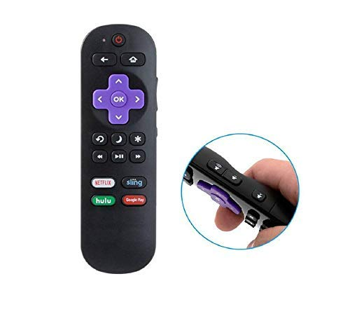 Replacement Remote for Insignia Roku TV Model Year 2016 2017 2018 (Model Number Ending 16, 17 or 18)